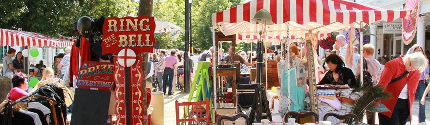 Events on The Pantiles, Tunbridge Wells